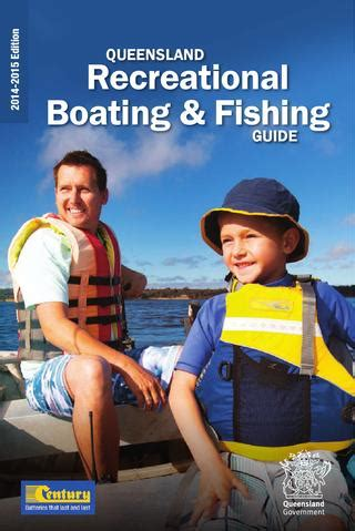 boating license requirements bc queensland recreational boating fishing guide 2014 2015