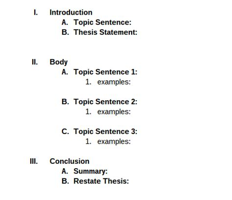 What Is An Outline In An Essay by Essay Outline Udl Strategies