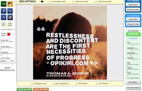 cara membuat quotes cara membuat gambar quote online keren dengan quotescover com