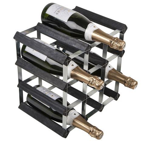 Bottle Rack Ta by 12 Bottle Traditional Wooden Wine Rack 3x3