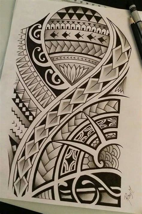 tattoo tribal polynesian designs polynesian drawing i made for a contest my drawings