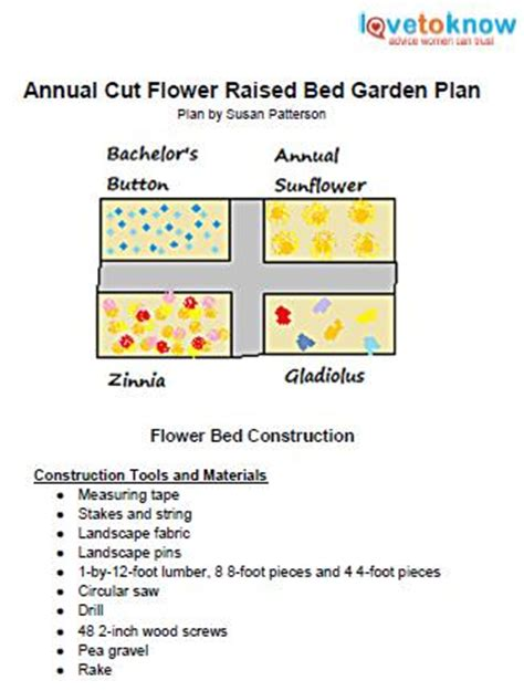 Cut Flower Garden Plan How To Start A Flower Garden Lovetoknow