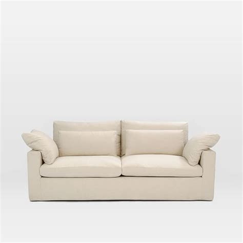 west elm harmony sofa harmony slipcovered sofa 82 quot west elm