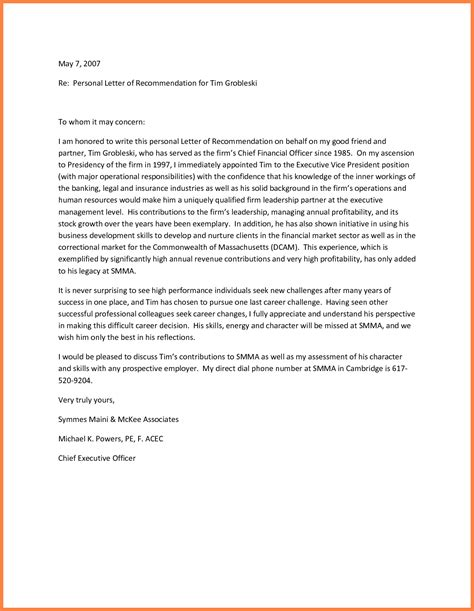 21 recommendation letter templates free sample example format