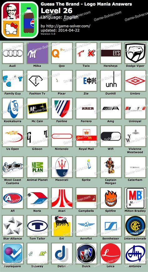 Gamis Ayudia Dunhil guess the brand logo mania level 26 solver