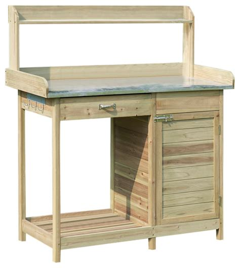 potting bench with cabinet potting bench with cabinet modern potting benches by