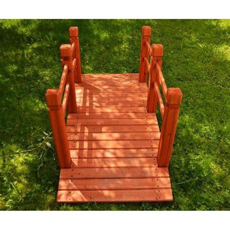 arredo da giardino in legno ponte da giardino in legno per laghetto e arredo esterno