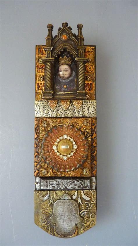 mosaik deko 1894 laurie object of devotion polymer clay