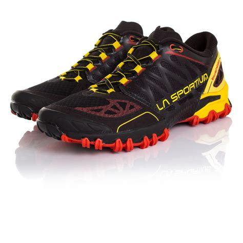 trail running shoes on road la sportiva bushido mens trail running road sports shoes