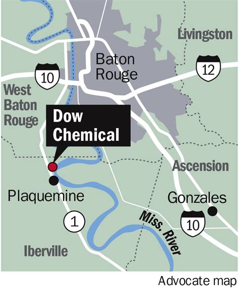 dow chemical dow chemical in plaquemine now secure after power