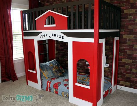 firehouse bunk bed at home with baby gizmo episode two the firehouse room