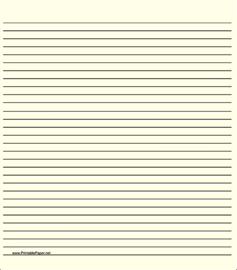 lined writing paper template 10 lined paper template sle templates