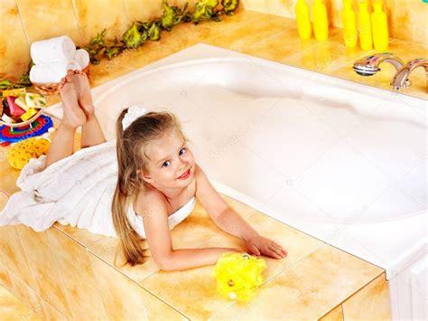 girl bathing in bathroom images child bathing in bathroom stock photo 169 poznyakov 12797841
