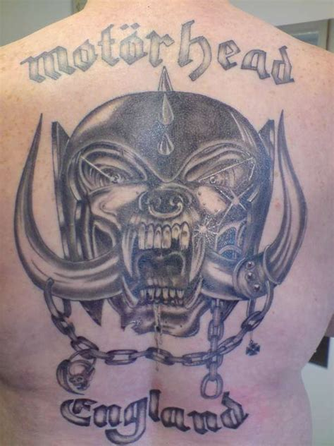 motorhead tattoo motorhead backpiece