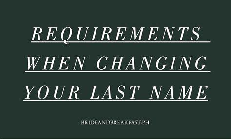 name changing a practical wedding blog ideas for the changing surname in philippines philippines wedding blog