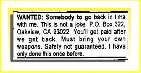 Resume For Babysitting Examples by 12 Hilarious Help Wanted Ads Help Wanted Funny Ads Oddee