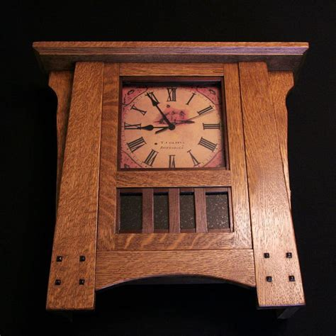 clocks for woodworking projects mission clock by andy lumberjocks woodworking