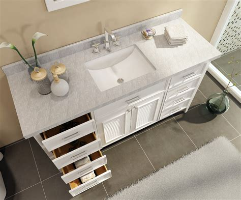 Ace Kensington 61 Inch Single Sink Bathroom Vanity Set In