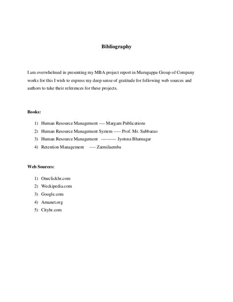 Mba Project Report On Employee Attrition by Mba Hr Finance Project May 2014