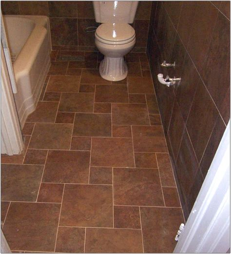 tiling bathroom floor 25 wonderful ideas and pictures of decorative bathroom