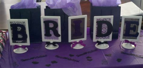 bridal shower decoration ideas purple and silver bridal wedding shower ideas photo 1 of 8 catch my