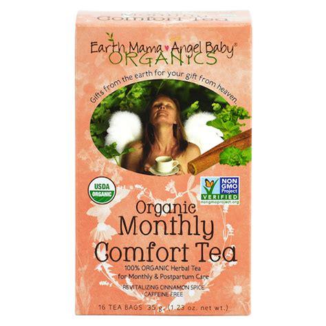 comfort tea earth mama angel baby organic monthly comfort tea ease