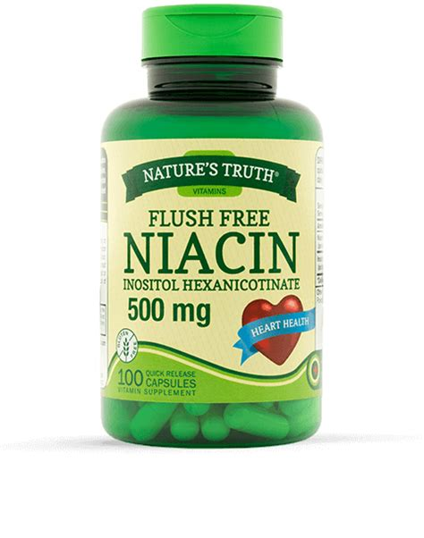 Where To Buy Niacin Detox Pills by Flush Free Niacin 500 Mg Vitamins Supplements By Nature