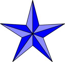 nautical star outline clipart best