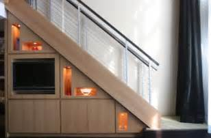 Stair Bookcase 40 Under Stairs Storage Space And Shelf Ideas To Maximize