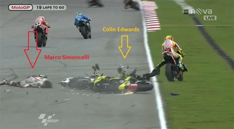 motogp crash the art of motorcycle
