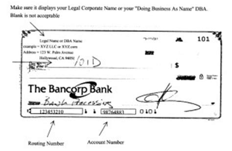 Bank Letter Instead Of Voided Check What Are Required Paper Works For Merchant Account Application