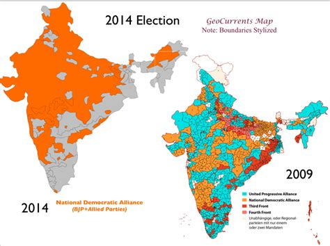 on indian election geocurrents the geography of current events