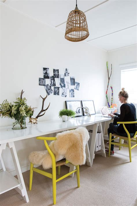 homestyle design mesas de estudio para dos escarabajos bichos y mariposas