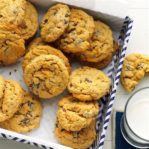 oat rageous chocolate chip cookies recipe taste of home