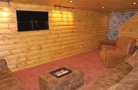 Interior Siding Ideas Staining Log Siding Guide How To Stain Log Siding