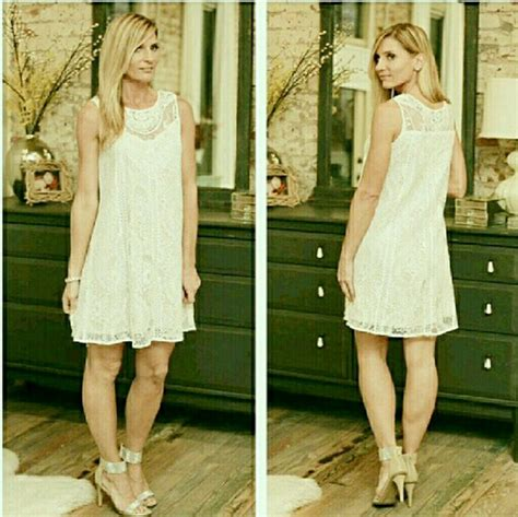 s m l white lace dress s m l from rory s closet on poshmark