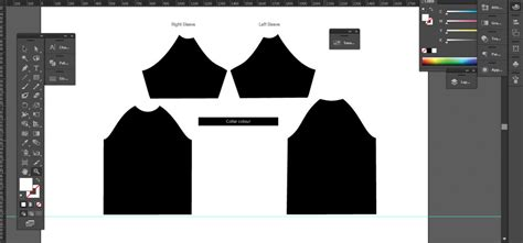 All Over Printed Shirt Template Layout Download Sublimation Design Templates