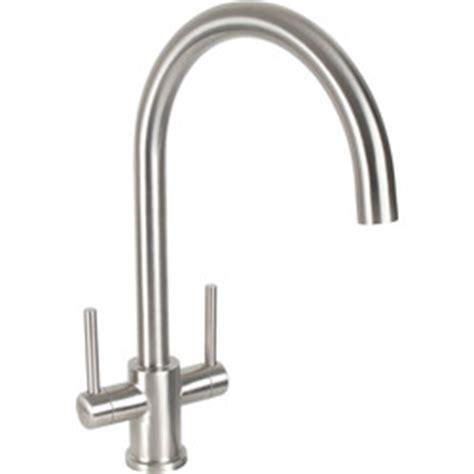 Dava Stainless Steel Kitchen Sink Mixer Tap   Toolstation