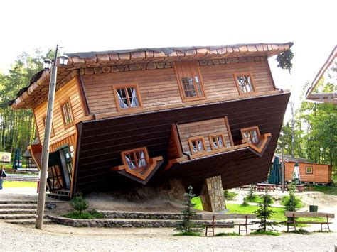 upside down house poland atlas obscura points to the world s oddities jefferson public radio