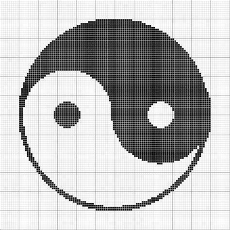 crochet pattern yin yang angels crochet yin yang chart