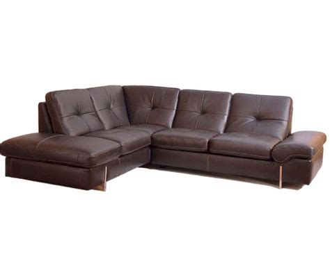 Italian Sectional Sofas by Sectional Sofa In Italian Leather 33ls221