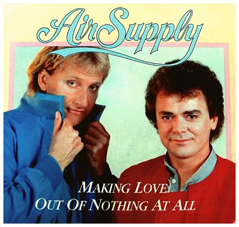 air supply bonnie out of nothing at 시간의 틈 사이로 우리는 영원같은 한 순간을 스치고 out of nothing