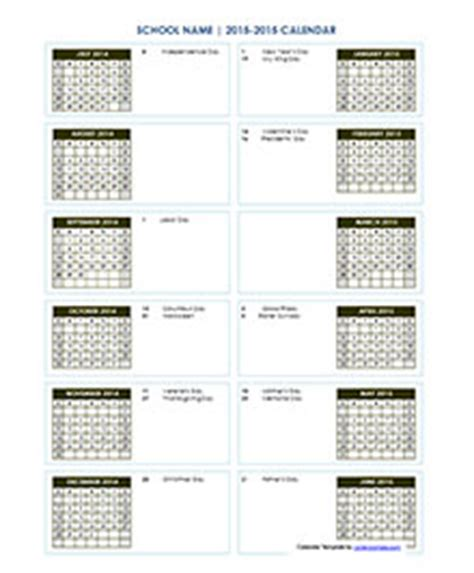 design lab high school calendar academic calendar template choice image template design
