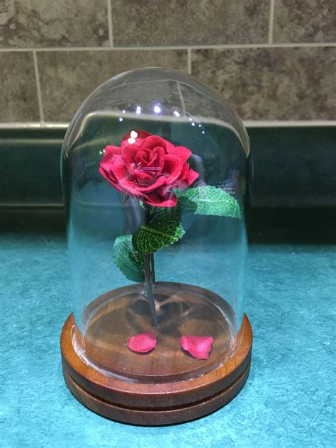 And The Beast Flower Vase by Engraved And The Beast Small