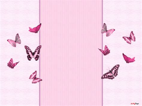 butterfly border template pink butterfly backgrounds pink butterflies