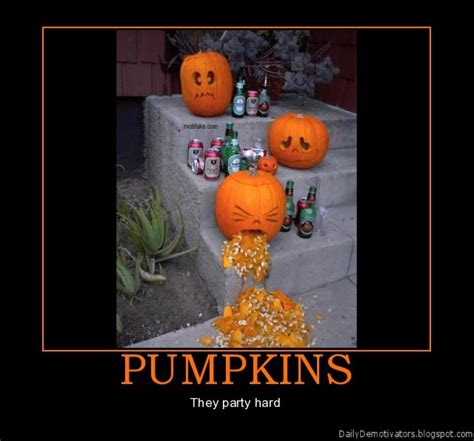 Halloween Party Meme - pumpkins demotivational poster demotivational posters