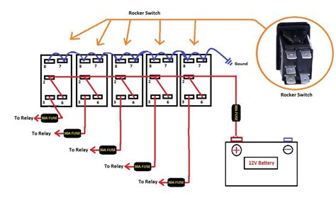 toggle switch panel wiring diagram wiring diagram manual