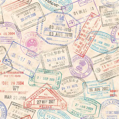 passport rubber st passport sts seamless texture stock vector image