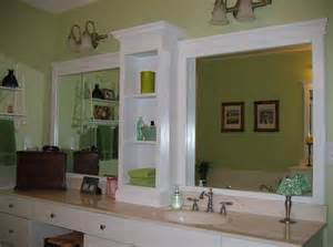 bathroom mirror ideas diy 10 diy ideas for how to frame that basic bathroom mirror