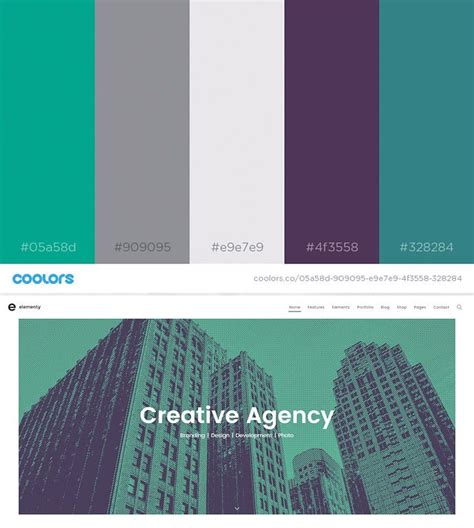 color combination 2017 49 color schemes for 2017 envato medium